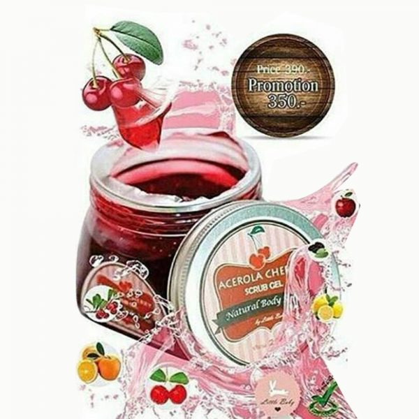 ACEROLA CHERRY SRUB GEL1